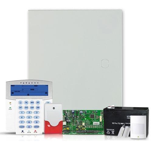 Sistem alarma antiefractie Paradox Spectra SP 5500SIS+K35 imagine spy-shop.ro 2021
