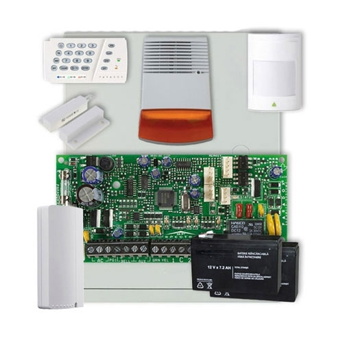 Sistem alarma antiefractie Paradox Spectra SP4000 EXT + Comunicator GPRS imagine spy-shop.ro 2021