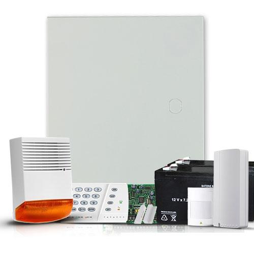 Sistem Alarma Antiefractie Paradox Sp4000 Ext + Comunicator Gsm/gprs