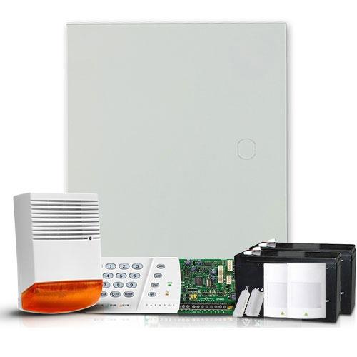 Sistem alarma antiefractie Paradox Spectra SP4000 EXT, 2 partitii, 4 zone, 256 evenimente