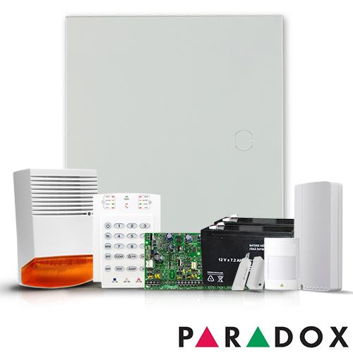 SISTEM ALARMA ANTIEFRACTIE PARADOX SPECTRA SP5500 EXT + COMUNICATOR GPRS