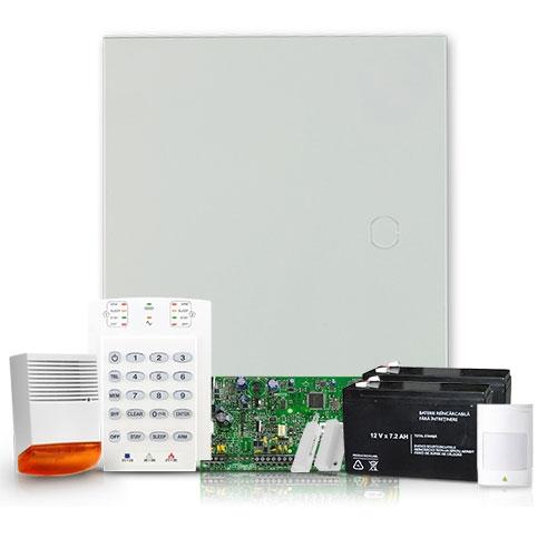 Sistem alarma antiefractie Paradox Spectra SP5500 EXT, 5 zone, 2 partitii