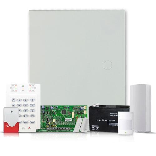 Sistem alarma antiefractie Paradox Spectra SP5500 INT + Comunnicator GSM/GPRS, 2 partitii, 5 zone, extensibil 32 zone imagine spy-shop.ro 2021