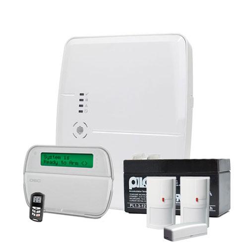 Sistem alarma antiefractie wireless DSC Alexor kit 495 imagine