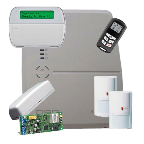 SISTEM ALARMA ANTIEFRACTIE WIRELESS KIT ALEXOR GSM DSC