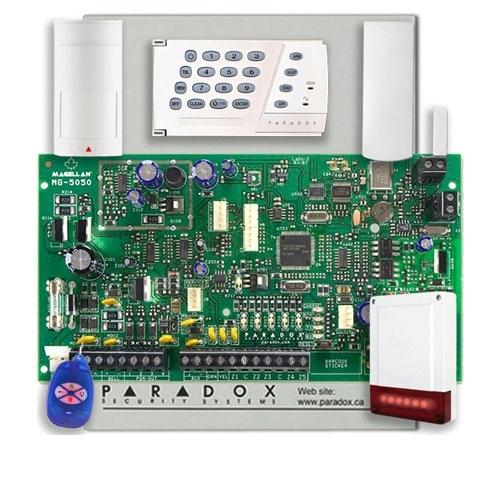SISTEM ALARMA WIRELESS PARADOX MAGELLAN MG 5050 + K636 imagine spy-shop.ro 2021