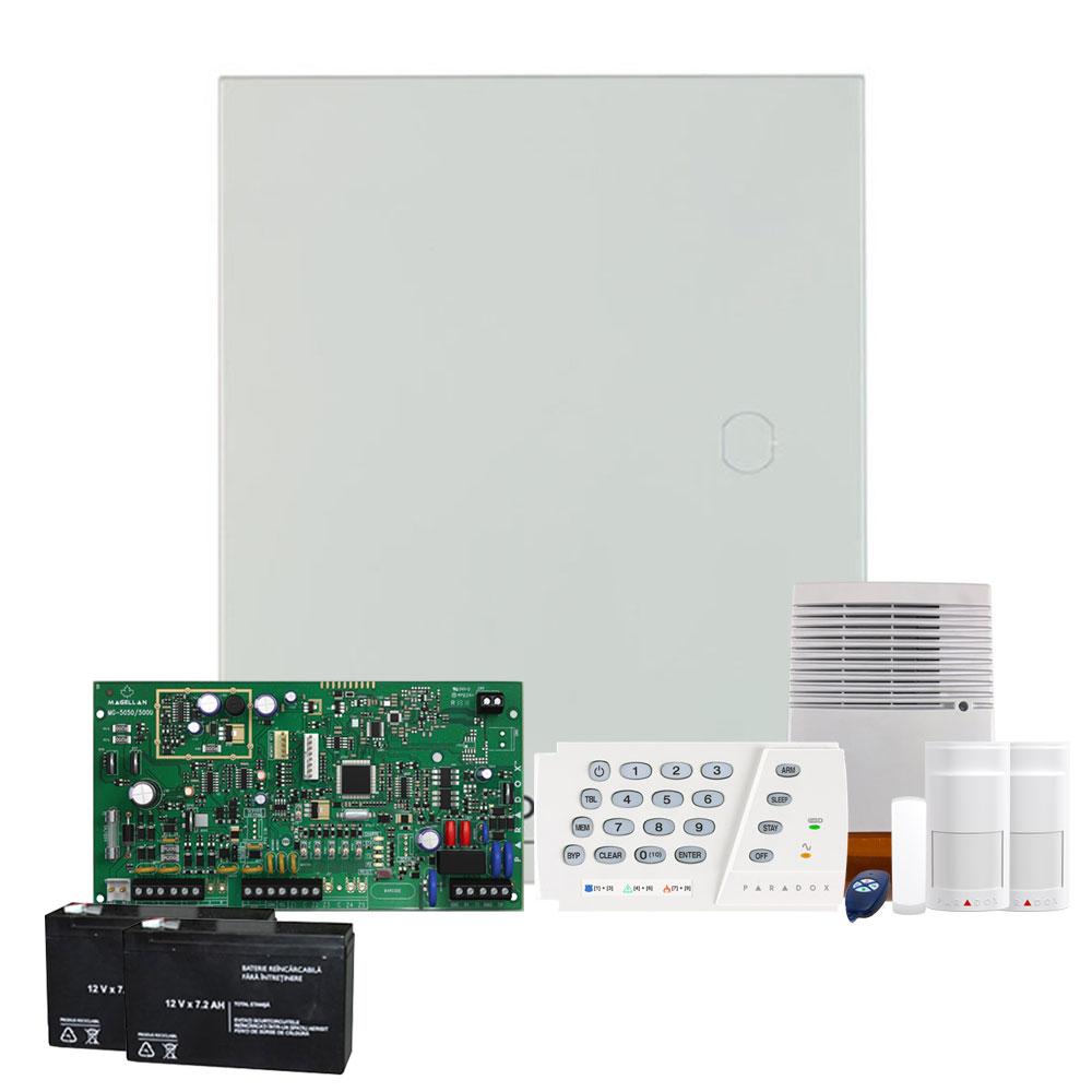Sistem alarma antiefractie wireless Paradox Magellan MG5000 K636 EXT imagine spy-shop.ro 2021
