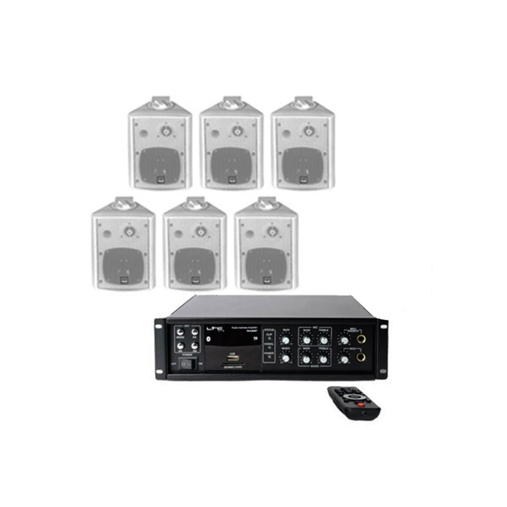 Sistem Audio STUDIO-M Chillout 2 Wall,6 boxe perete, USB-Bluetooth imagine spy-shop.ro 2021