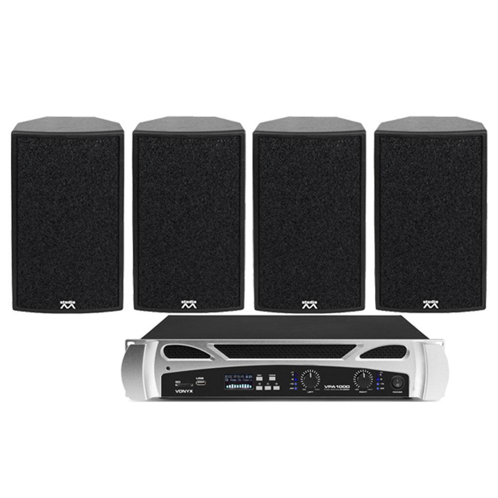 Sistem audio bar Micromax HD1-Set Noiz VPA1000 906045, 4 boxe, 1000 W, bluetooth
