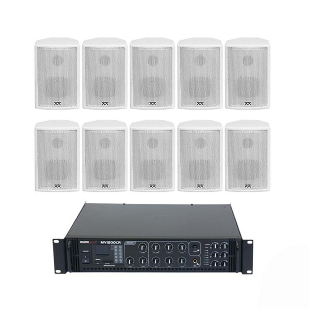Sistem audio NOIZ JAZZ LINE 2, 10 boxe, bluetooth imagine spy-shop.ro 2021