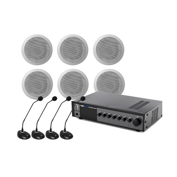 Sistem Audio STUDIO-M Sali Conferinte 1-C, 120 W, 100 V imagine spy-shop.ro 2021