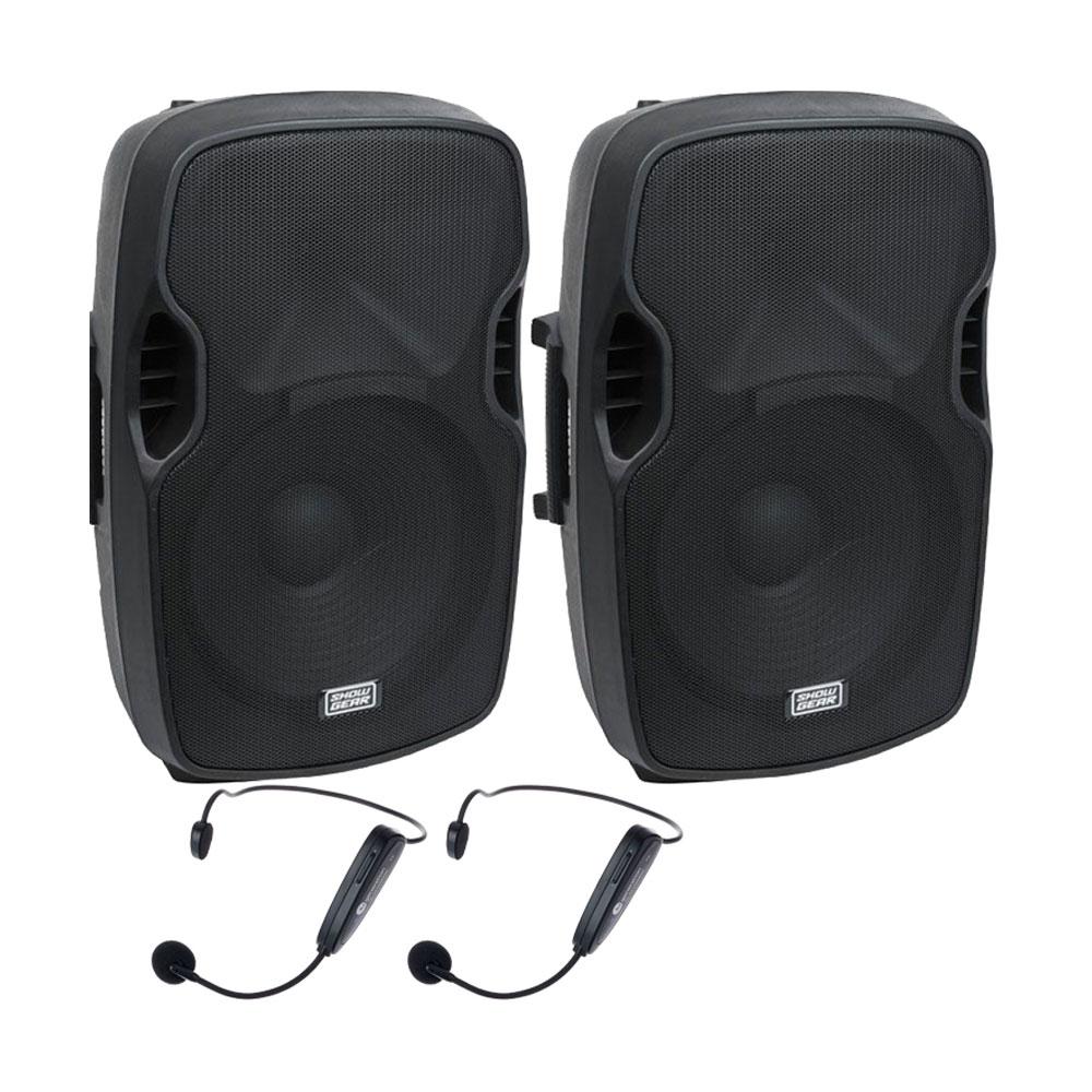 Sistem audio Sport Center 4-Dual 906001, 2x150 W, 2.4 GHz, bluetooth, fitness