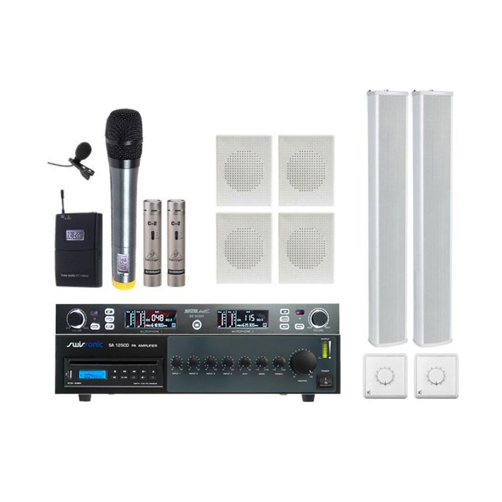 Sistem Biserica cu CD Player PRO1-CD, sistem sonorizare profesional interior-exterior cu CD Player