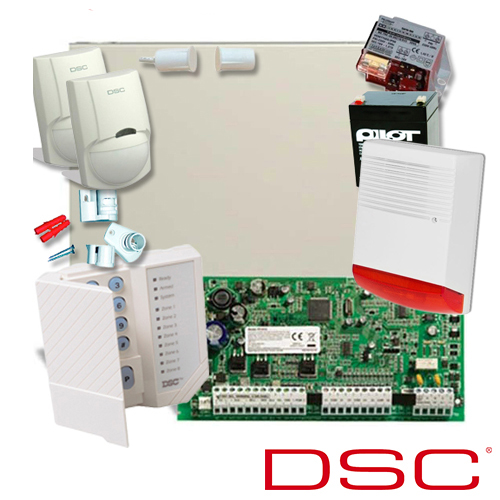 SISTEM DE ALARMA ANTIEFRACTIE DSC KIT 1616 EXT SIR