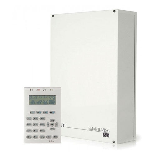 Sistem de alarma antiefractie Inim KIT Sliving 515, 10 zone, 30 coduri utilizator, 500 evenimente