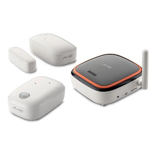 Sistem de alarma smart home MIO sensorstarterkit, Detector miscare, Senzor magnetic usi/ferestre, Hub central imagine spy-shop.ro 2021