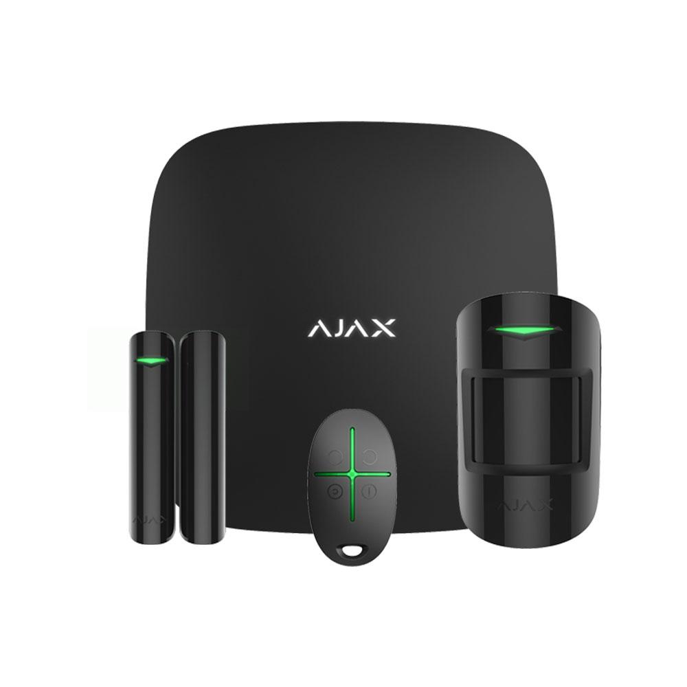 Sistem de alarma wireless Ajax Starter kit BL, 868/915 MHz, 2000 m, pet immunity imagine spy-shop.ro 2021