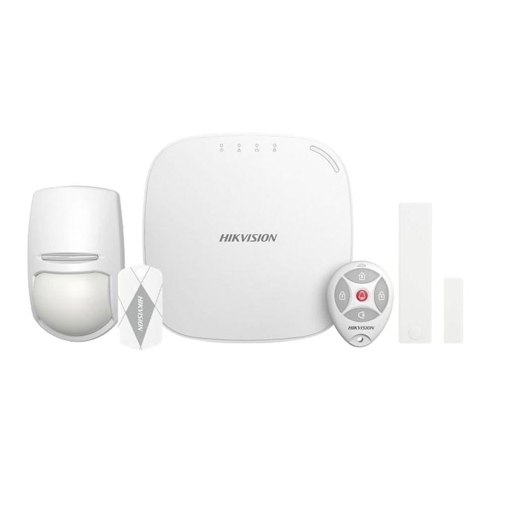 Sistem de alarma wireless HikVision DS-PWA32-NKGT-868, 4 partitii, 32 zone, GPRS, 868 MHz imagine spy-shop.ro 2021