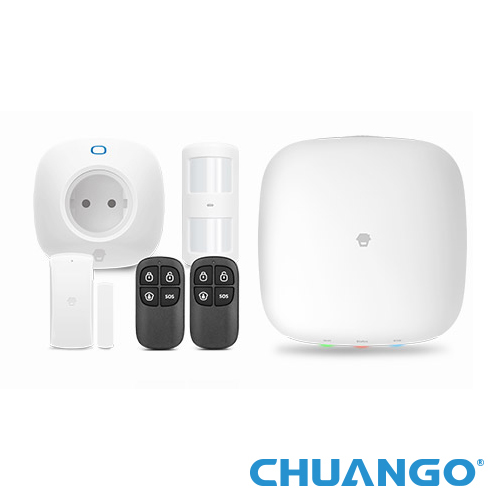 SISTEM DE ALARMA WIRELESS WiFi/GSM CHUANGO H4