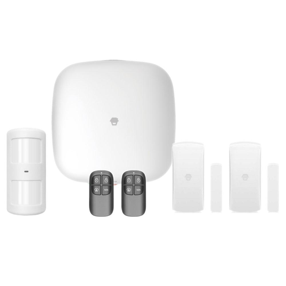 Sistem de alarma Wireless WiFi/GSM Chuango H4 Plus, max 50 senzori, 93 dB, RF 80 m imagine spy-shop.ro 2021