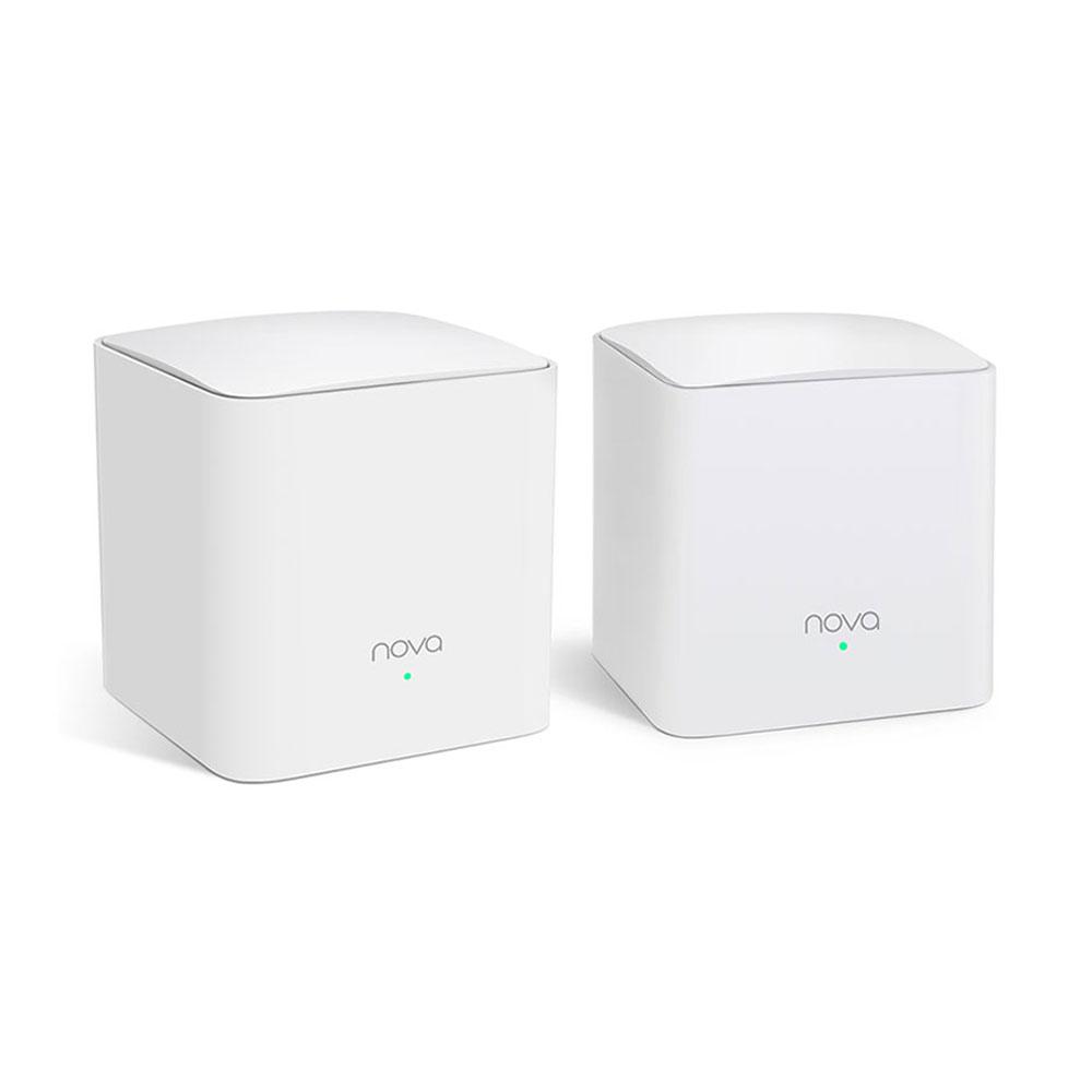 Sistem Mesh wireless Dual Band Tenda Nova MW5C(2-PACK), 300 mp, 2.4/5.0 GHz, 1200 Mbps