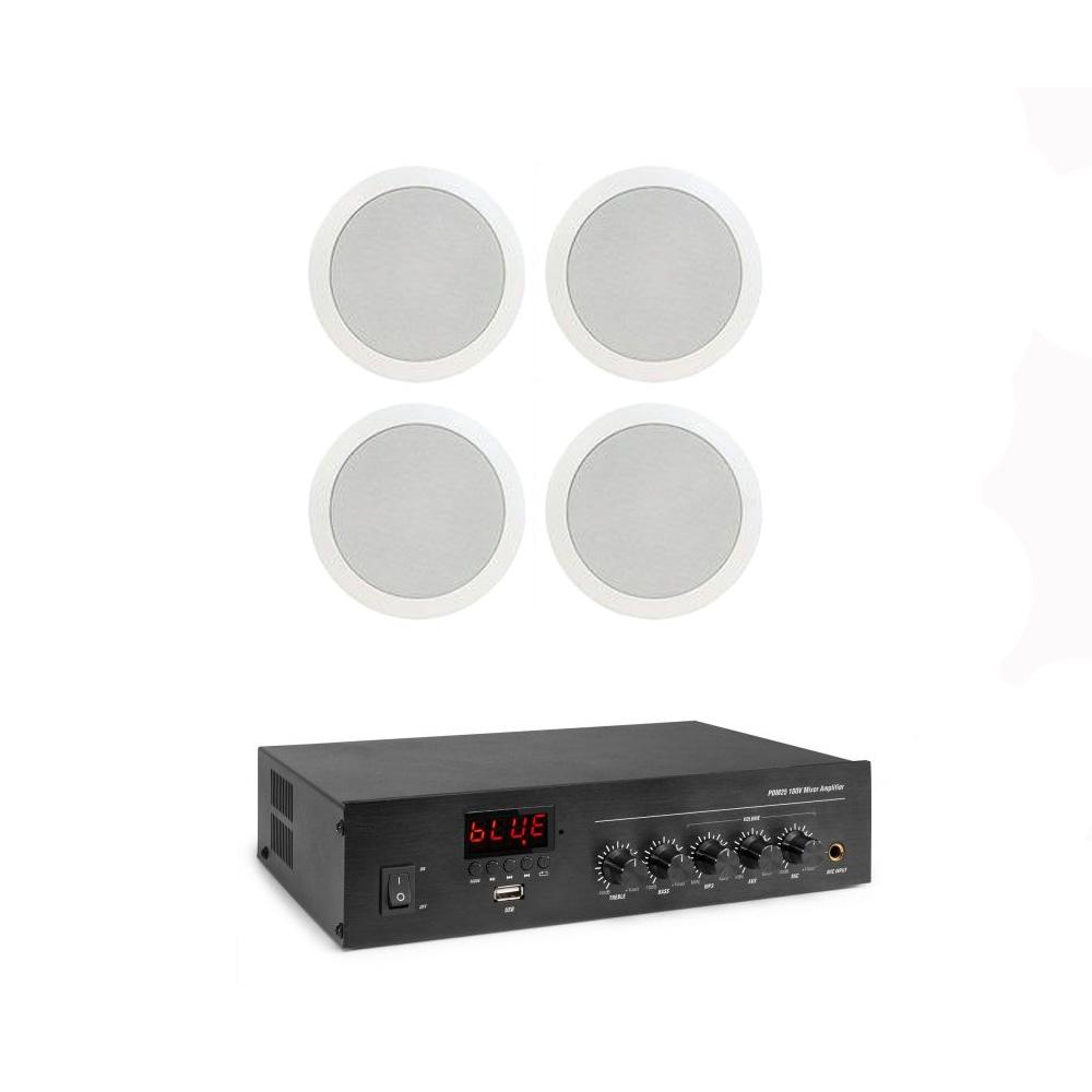 Sistem sonorizare ambiental Studio-M 1-C, player, bluetooth, 25 W imagine spy-shop.ro 2021