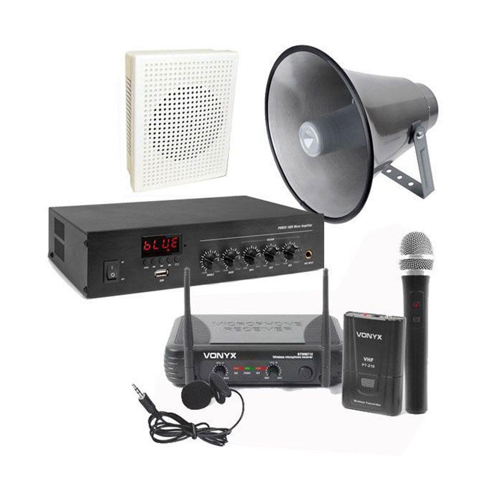 Sistem sonorizare Biserica 18, wireless