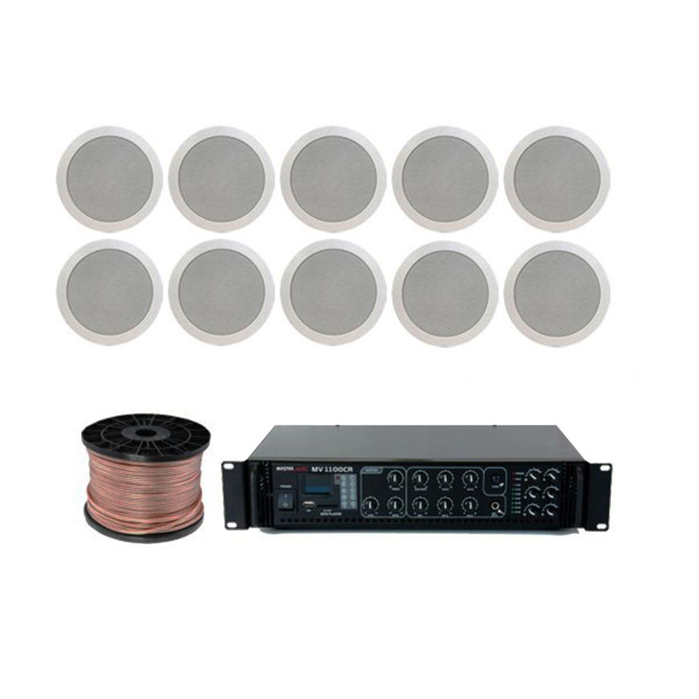 Sistem sonorizare multizona Studio-M Chillout Line 1/C, 10 boxe, 120W imagine spy-shop.ro 2021