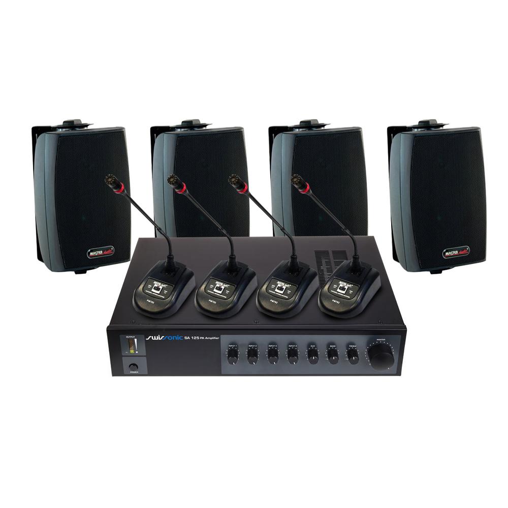 Sistem sonorizare SA125-781008-PM782, 1 canal, 120W imagine spy-shop.ro 2021