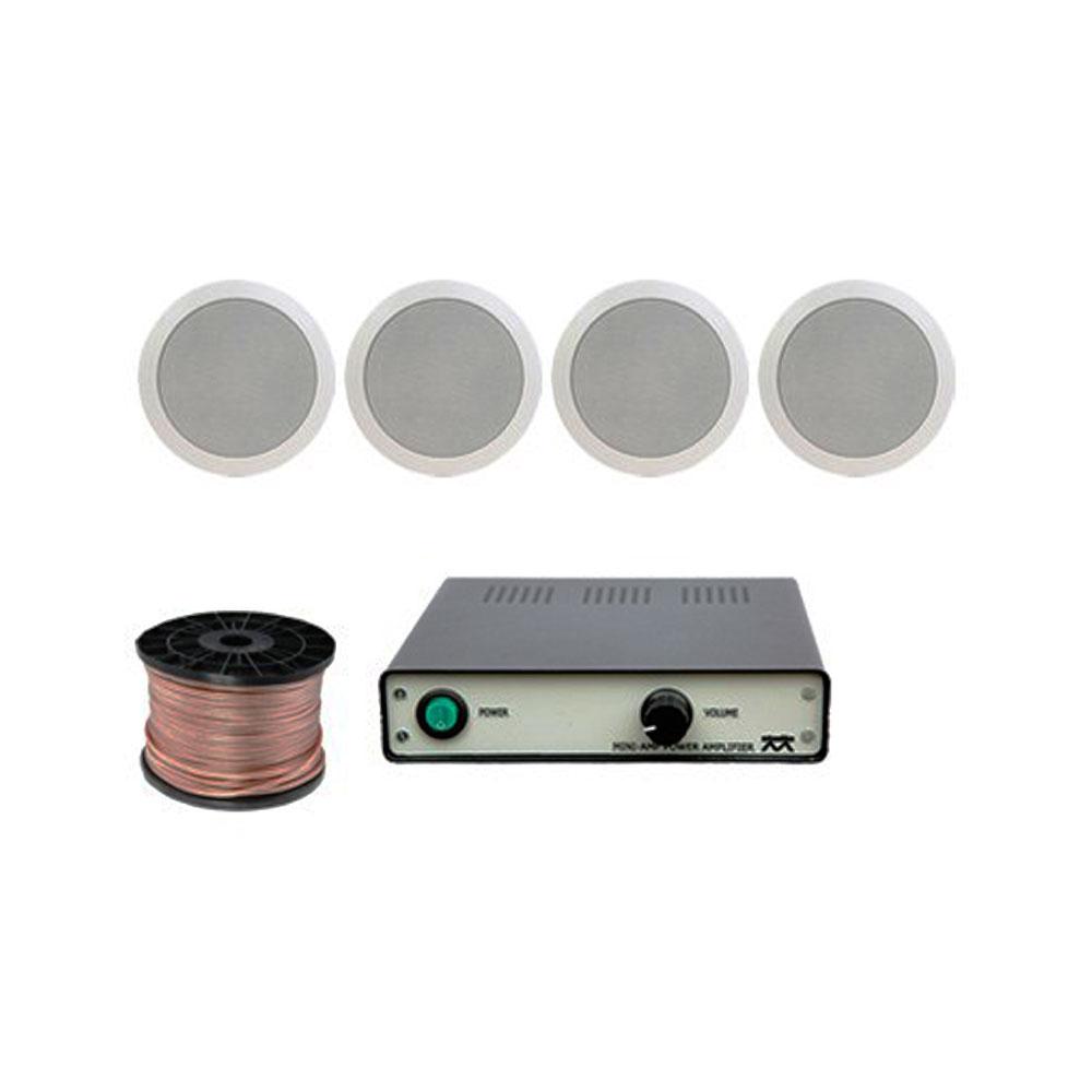 Sistem sonorizare Studio-M Basic - Ceiling Cafe-Restaurant imagine spy-shop.ro 2021