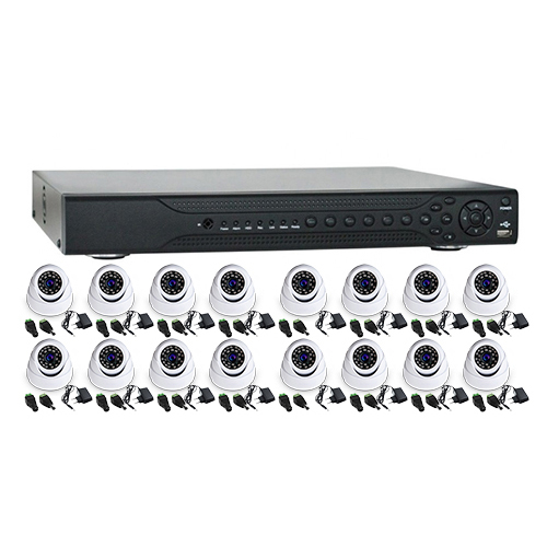 Sistem supraveghere interior Acvil AHD-16INT20-720P 16 camere 1 MP IR 20 m