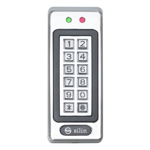 Cititor de proximitate stand alone/controler cu tastatura Silin SK-1011, RFID, 2-5 cm, 1000 utilizatori imagine spy-shop.ro 2021