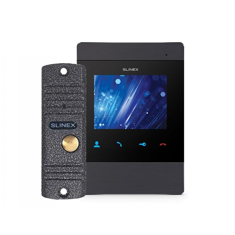 Kit videointerfon Slinex VID-SLI-05 1 familie, aparent, vila