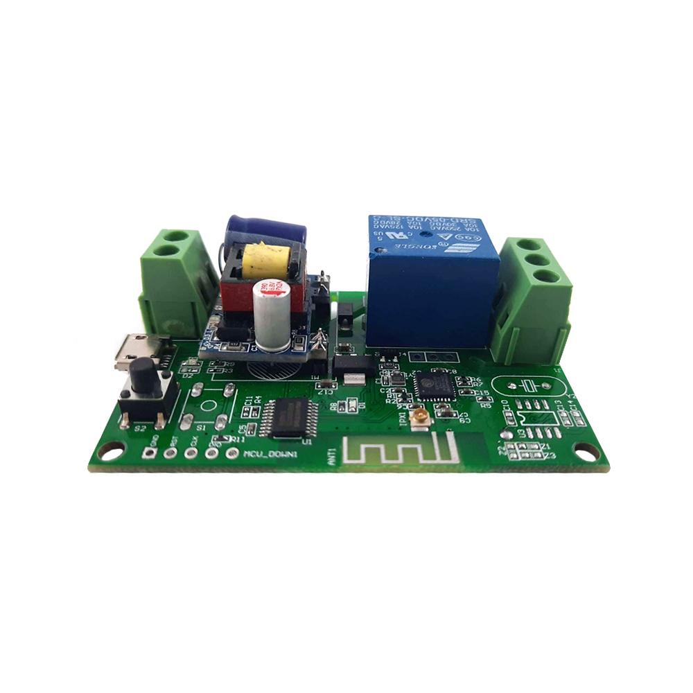 Smart WiFi Controller pentru automatizare porti/usa garaj YX-G4-220V, control prin telefon, Android/iOS