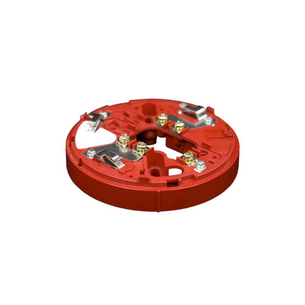 Soclu sirena cu izolator la scurt-circuit Hochiki ESP Intelligent YBO-R/SCI(RED), 127 izolatori pe bucla, 17 - 41 VDC, ABS rosu imagine spy-shop.ro 2021