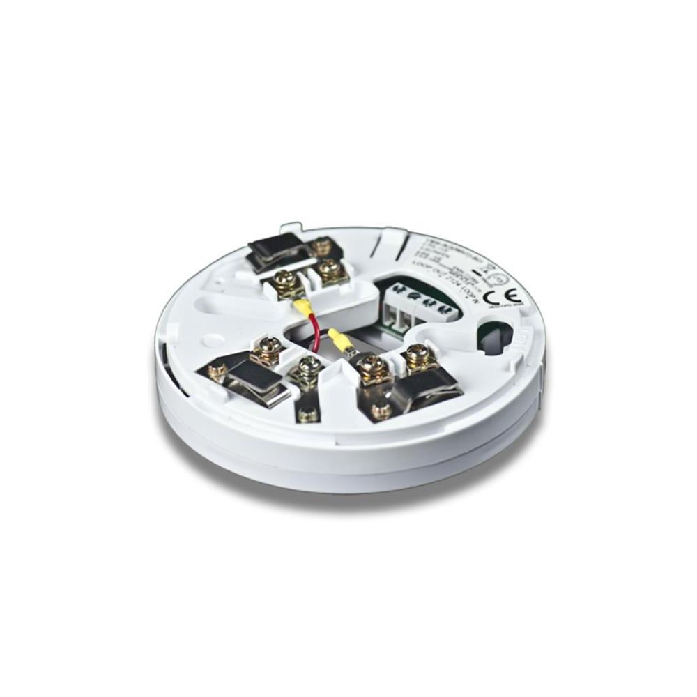 Soclu cu izolator la scurt-circuit Hochiki YBN-R/3(WHT)-SCI/SIL, SIL2, 17 - 41 VDC, ABS alb imagine