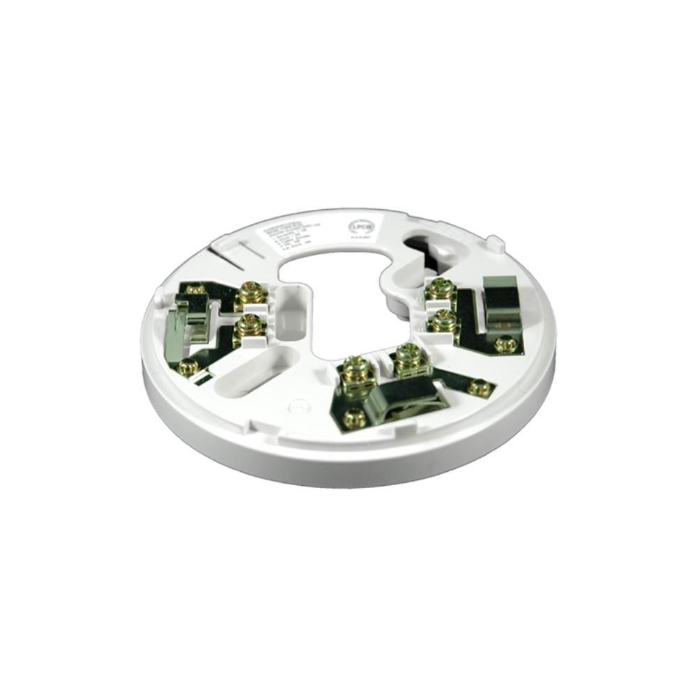 Soclu de montaj conventional cu releu Hochiki CDX YBO-R/6R(WHT), cu blocare, cablu 2.5 mm2, ABS alb imagine spy-shop.ro 2021