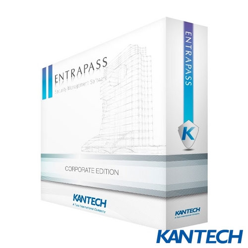 SOFTWARE CENTRALE KANTECH ENTRAPASS CORPORATE EDITION E-COR-EN-V7