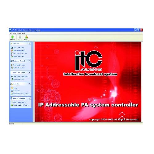 SOFTWARE MANAGEMENT SI CONFIGURARE IP INTERCOM ITC T-6700R(D)