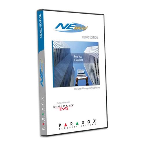 Software management sisteme antiefractie Paradox NEW-SEC imagine spy-shop.ro 2021