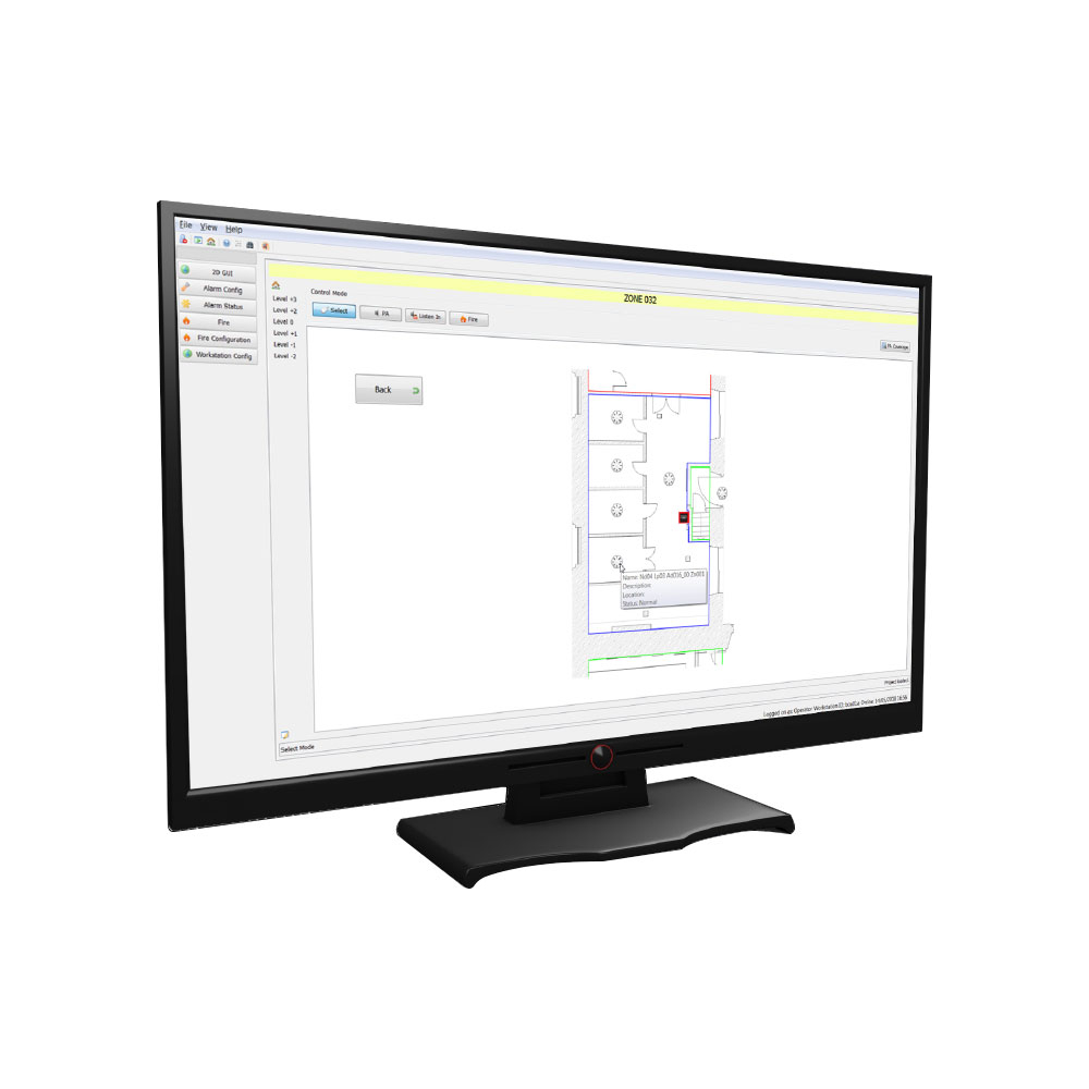 Software Ockular pentru centrala Taktis/Syncro Kentec OTEN2004, 4 centrale imagine spy-shop.ro 2021