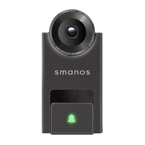Sonerie video pentru usa Smanos DB-20, 2 MP, WiFi imagine spy-shop.ro 2021