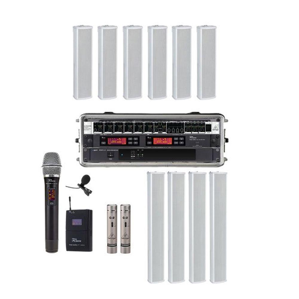Sonorizare profesionala Biserica PRO-3, microfon wireless