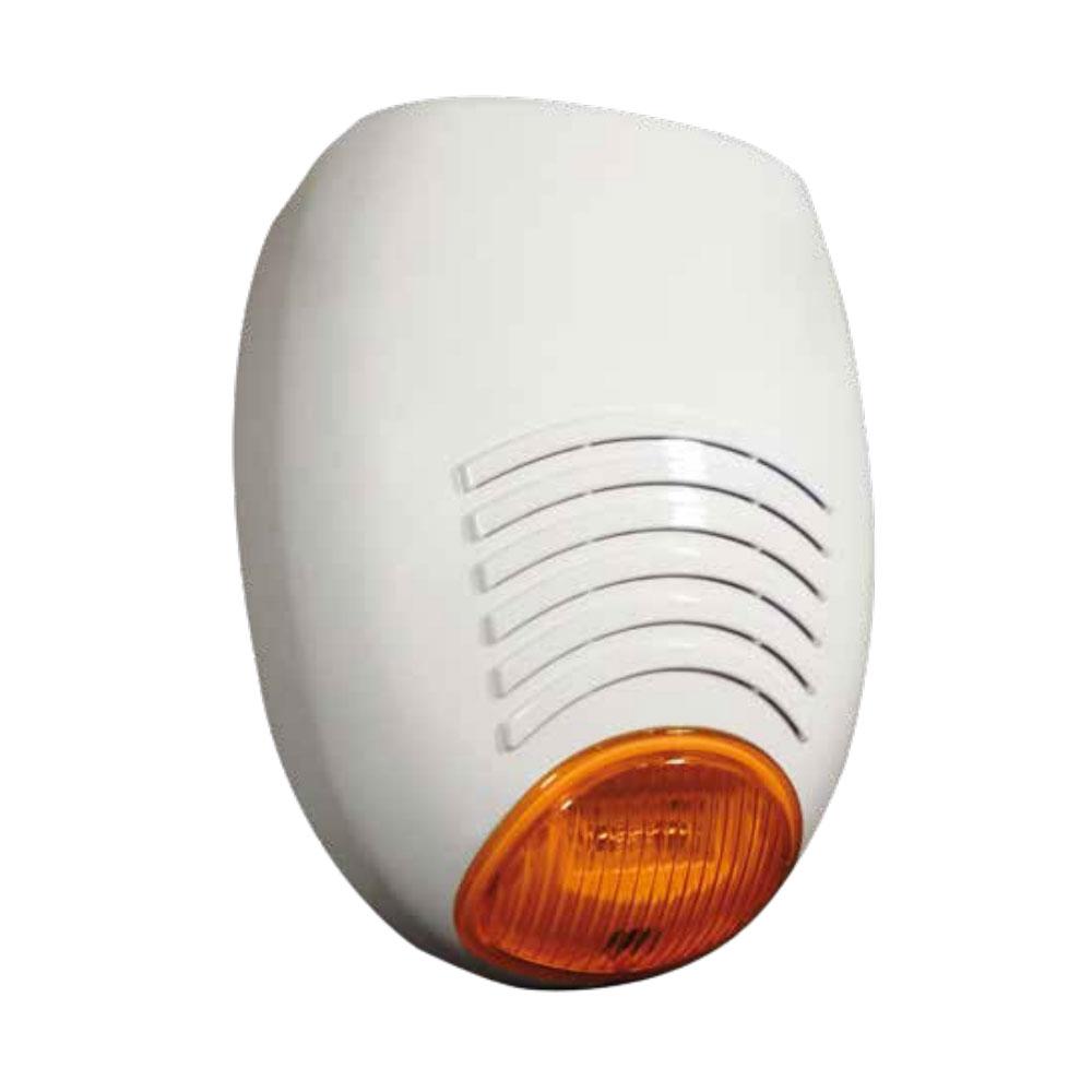 Sirena de exterior cu flash AMC SR 135, 110 dB, tamper, IP54 imagine spy-shop.ro 2021