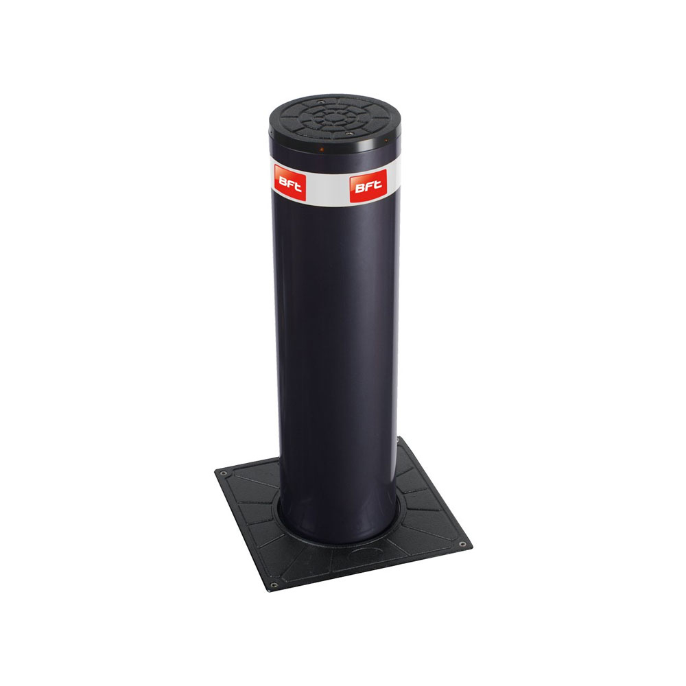 Stalp retractabil restrictionare acces auto BFT STOPPY-B-200-700, 7 sec, 230 V, semi intensiv imagine spy-shop.ro 2021