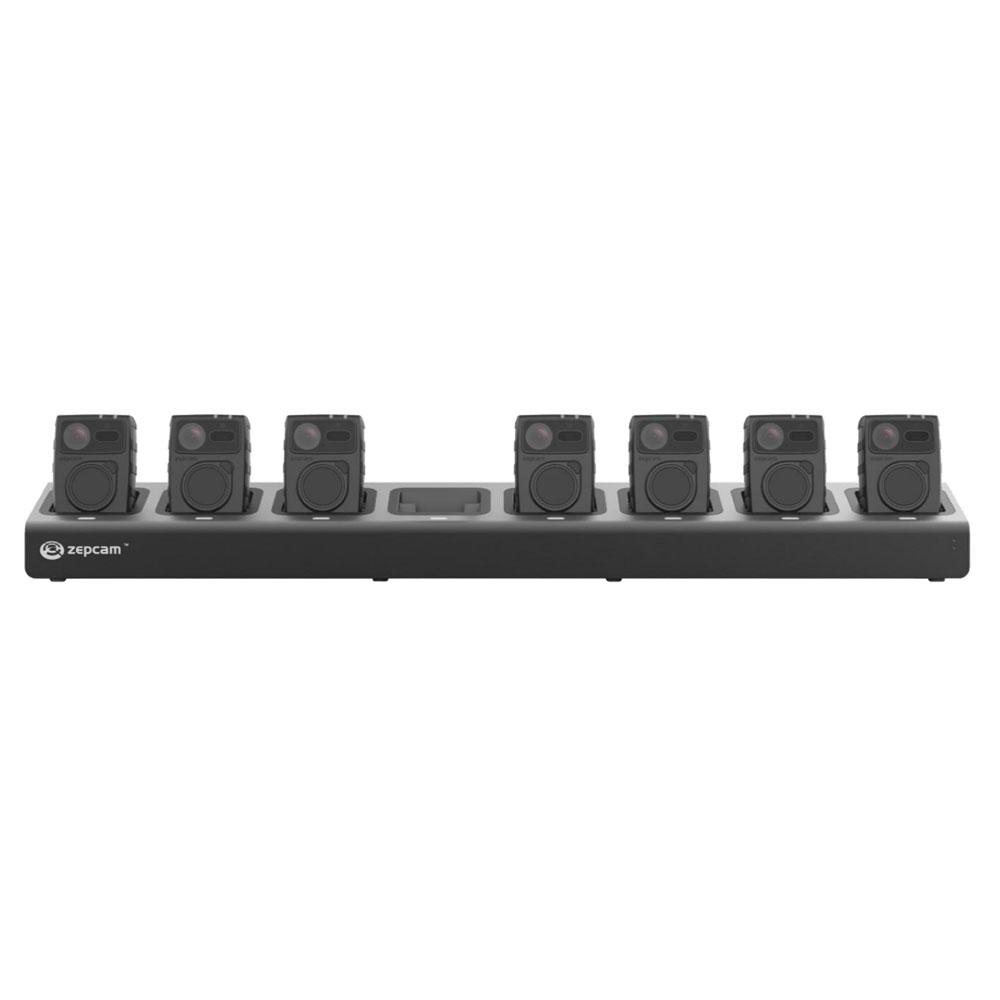 Statie de incarcare Zepcam T2-DS8-21, 8 porturi, 256 GB imagine