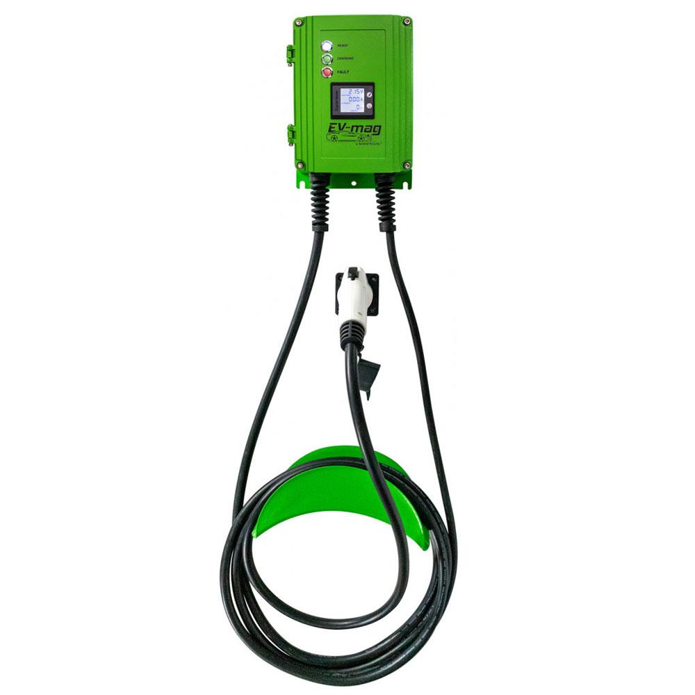 Statie fixa cu ecran pentru incarcare masini electrice EV-MAG GS103T1GC-D, 3.6 kW, type 1, monofazat