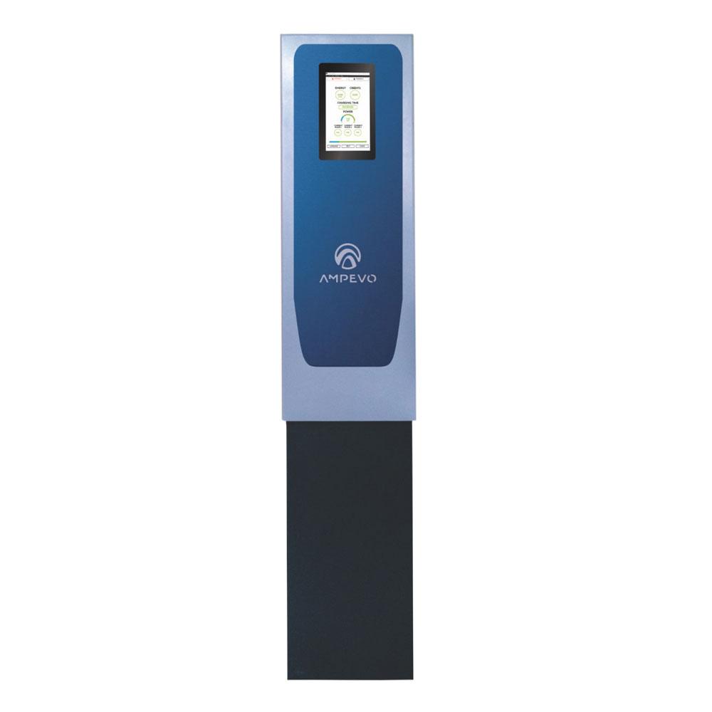 Statie fixa incarcare masini electrice EV-MAG AMP322T2D - IK10, RFID, ecran tactil 10 inch, 22 kW, Type 2, trifazat, power management imagine spy-shop.ro 2021