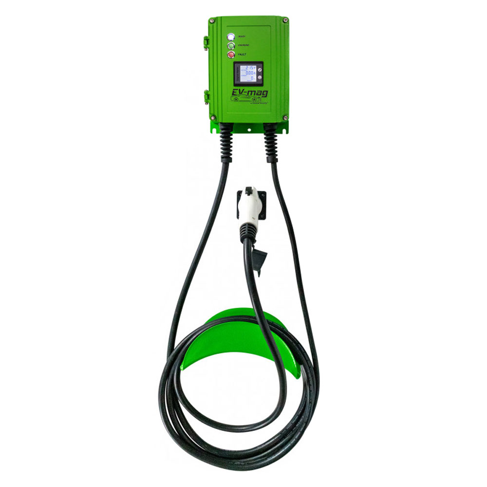 Statie fixa cu ecran pentru incarcare masini electrice EV-MAG GS103T2GC-D, 3.6 kW, type 2, monofazat