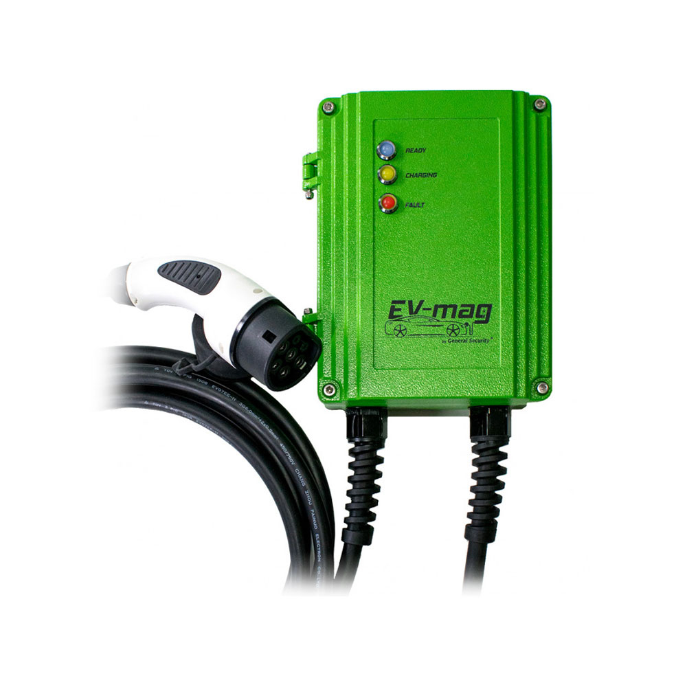 Statie fixa incarcare masini electrice EV-MAG GS103T2GC, 3.6 kW, type 2, monofazat